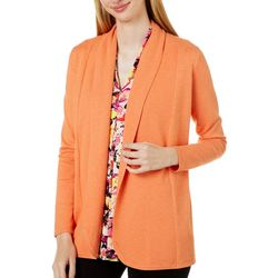 Cyrus Womens Open Front Long Sleeve Cardigan