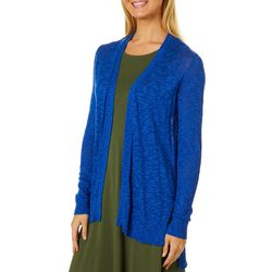 Cyrus Womens Cozy Solid Cardigan
