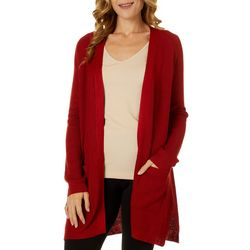 Cyrus Womens Open Front Longline Cardigan