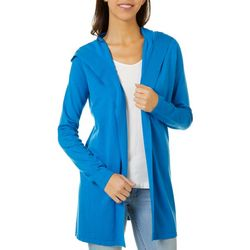 Cyrus Womens Open Front Solid Cardigan