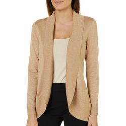 Cable & Gauge Womens Lurex Shimmer Cardigan