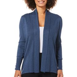 Cable & Gauge Womens Solid Lace-Up Cuff Cardigan