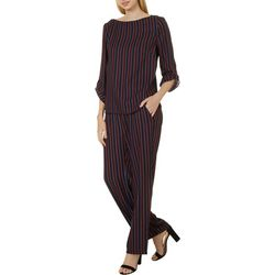 Como Blu Womens 2-pc. Striped Pant Set
