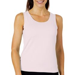 Ruby Road Favorites Womens Solid Tank Top