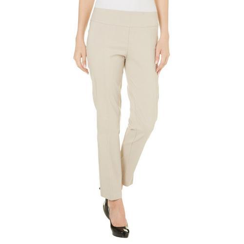 b40f4183d907a Zac   Rachel Womens Pull On Solid Millennium Pants