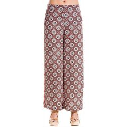 Max Studio Womens Mixed Print Eleastic Waist Pants