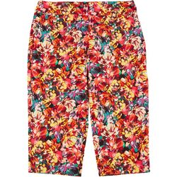 ATTYRE Plus Floral Bermuda Shorts
