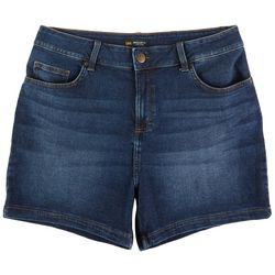 Lee Plus Solid Denim Shorter Shorts