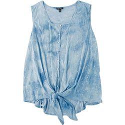 Sami & Jo Plus Embellished Sleeveless Top