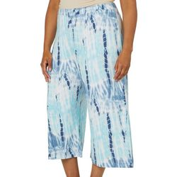 Sportelle Plus Knit Tie Dye Pull On Pants