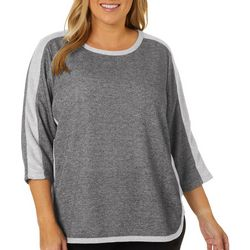 Cathy Daniels Plus Solid Knit Top