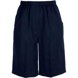 Plus Microfiber Bermuda Shorts