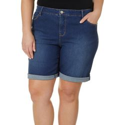 Gloria Vanderbilt Plus Denim City Shorts