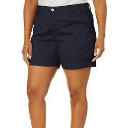 Gloria Vanderbilt Plus Nimah Trouser Shorts