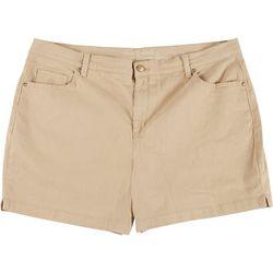 Gloria Vanderbilt Womens Amanda Essential Shorts