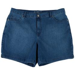 Plus Amanda Denim Shorts