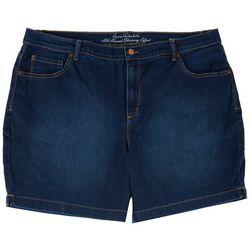 Gloria Vanderbilt Plus Slimming Denim Shorts