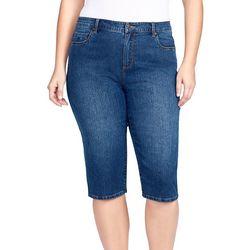 Gloria Vanderbilt Plus Classic Jeans Capris