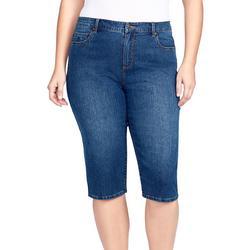 Plus Classic Jeans Capris