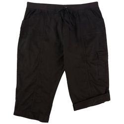 Fresh Plus Solid Pull On Cuffed Shorts