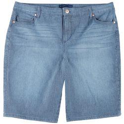 BANDOLINO Womens Rlaxed Riley Bermuda Shorts
