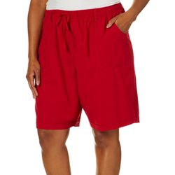 Erika Plus Riley Pull On Drawstring Shorts