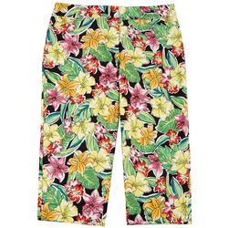 ATTYRE Plus Tropical Cropped Bengaline Trousers
