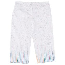 ATTYRE Plus Confetti Cropped Bengaline Trousers