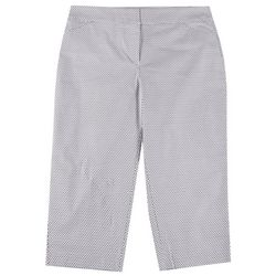ATTYRE Plus Honeycomb Cropped Bengaline Trousers