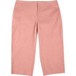 ATTYRE by DFA Plus Solid Cropped Bengaline Trousers