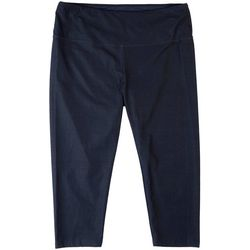 Khakis & Co Womens Suave Denim Looking Flat Front Leggings