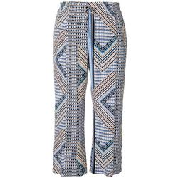 Plus Aztec Print Pull On Pants