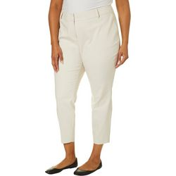 Prosecco Plus Solid Slim Ankle Pants