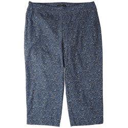 Womens Printed Bermuda Shorts