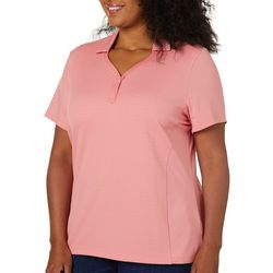 Coral Bay Energy Plus Solid Textured Short Sleeve