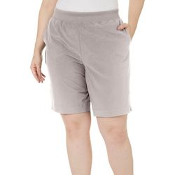 Coral Bay Plus Solid Pull On Shorts