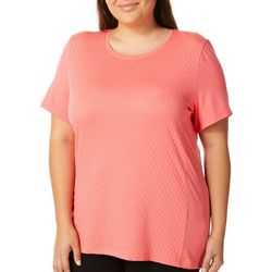 Coral Bay Energy Plus Textured Solid Knit Top