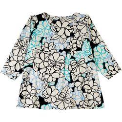 Coral Bay Plus Everyday 3/4 Sleeve Top