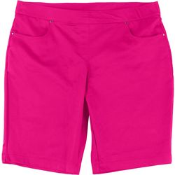 Coral Bay Plus 11 Solid Pull On Shorts