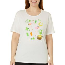 Coral Bay Plus Jeweled St. Patrick's Fun Top