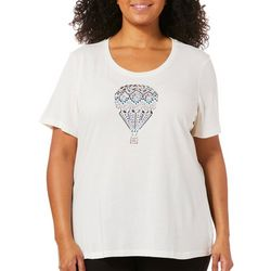 Coral Bay Plus Embellished Jewel Hot Air Balloon