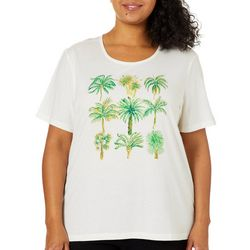 Coral Bay Plus Jeweled Tropical Palm Trees Top