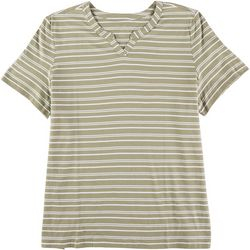 Coral Bay Plus Striped Top