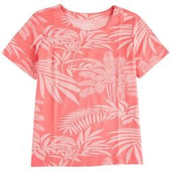 Coral Bay Plus All Over Printed Short Sleeve