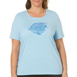 Coral Bay Plus Embellished Tropical Fish Top