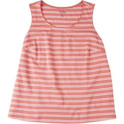 Coral Bay Plus Striped Tank Top