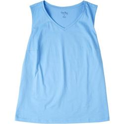 Plus Basic V-Neck Tank Top
