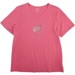 Coral Bay Plus Short Sleeve Flamingo Tee