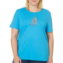 Coral Bay Plus Embellished Sailboat Top