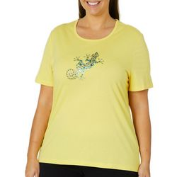 Coral Bay Plus Jeweled Salamander Top